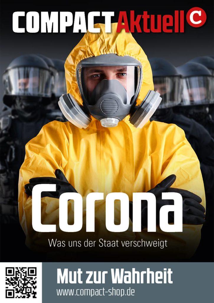 Corona-Aufkleber COMPACT